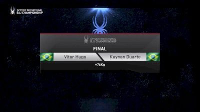 Victor Hugo vs Kaynan Duarte +76kg Final Spyder BJJ Final