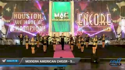 Modern American Cheer - Shade [2020 L5 Senior Coed - D2 Day 1] 2020 Encore Championships: Houston DI & DII