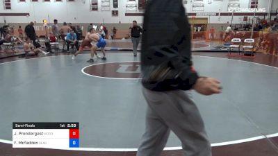 145 lbs Semifinal - Jack Prendergast, Woodstown vs Finnegan Mcfadden, Seagull Wrestling Club