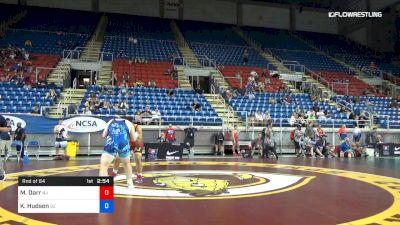 285 lbs Rnd Of 64 - Muhammad Darr, New Jersey vs Kevin Hudson, Delaware