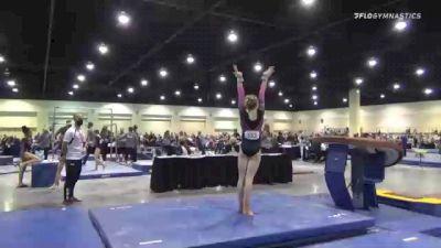 Marguerite McCrea - Vault, WOGA Gym #153 - 2021 USA Gymnastics Development Program National Championships