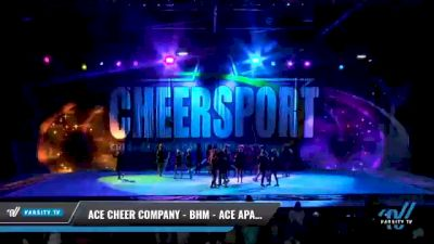 ACE Cheer Company - BHM - ACE Apaches [2021 L4 Junior - Medium Day 2] 2021 CHEERSPORT National Cheerleading Championship