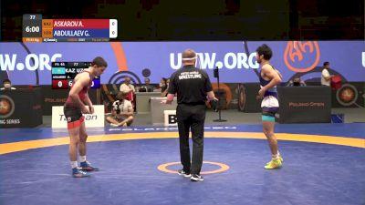 61 kg Match - Adlan Askarov, KAZ vs Gulumjon Abdullaev, UZB