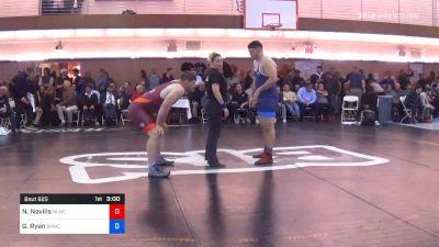 125 kg Consolation - Nick Nevills, Nittany Lion Wrestling Club vs Garrett Ryan, Sunkist Kids Wrestling Club