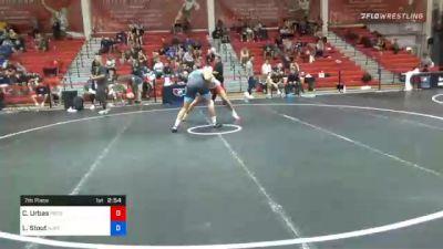 92 kg 7th Place - Cole Urbas, Pennsylvania RTC vs Luke Stout, New Jersey RTC