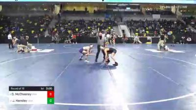 125 lbs Prelims - Dylan McChesney, Simpson College vs Jared Hensley, Loras College