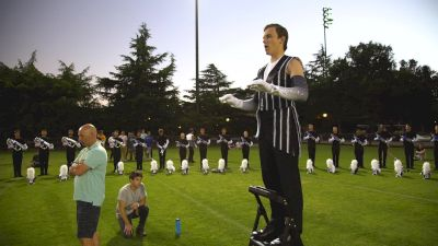 In The Circle With Blue Devils, 'Intense But Soft'