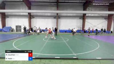 138 lbs Final - Matthew Gauthier, Shore Thing WC vs Riley Halal, Eclipse