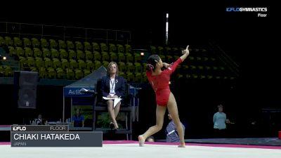 Chiaki Hatakeda - Floor, Japan - 2018 International Gymnix