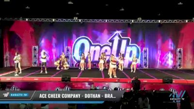 ACE Cheer Company - Dothan - Bravehawks [2021 L6 International Open Coed - Small Day 2] 2021 One Up National Championship