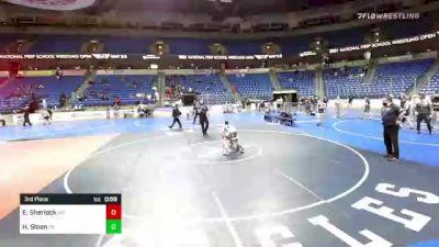 106 lbs 3rd Place - Emmitt Sherlock, Maryland vs Hunter Sloan, Pennsylvania