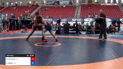97 kg 5th Place - Niccolo Colucci, Buxton (NJ) vs Aric Bohn, Southern Illinois