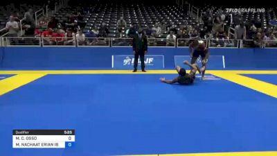 MICHELE C. OSSO vs MINA NACHAAT ERIAN IBRAHIM 2021 World IBJJF Jiu-Jitsu No-Gi Championship