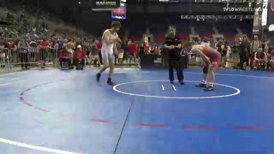 160 lbs Consi Of 16 #2 - Jared Keslar, Pennsylvania vs Vincent Zerban, Illinois