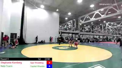 155 lbs Rr Rnd 3 - Stephanie Kornberg, Gps Wrestling Club vs Nebi Tsarni, Capital Wrestling Club