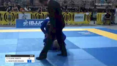 CLAIRE ELAINE NORTH vs LUIZA MONTEIRO MOURA DA COSTA 2021 Pan Jiu-Jitsu IBJJF Championship