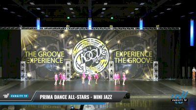 Prima Dance All-Stars - Mini Jazz [2021 Mini - Jazz - Small Day 2] 2021 Groove Dance Nationals