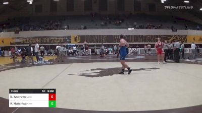Match - Brian Andrews, Wyoming vs Kayne Hutchison, Air Force with commentary