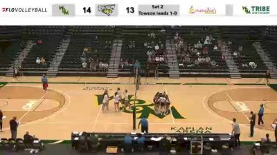 Replay: Towson vs William & Mary | Oct 23 @ 7 PM