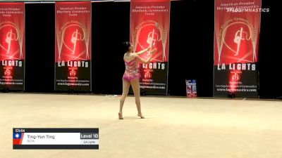 Ting-Yun Ting - Clubs, RSTA - 2020 LA Lights Tournament of Champions
