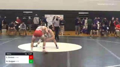 152 lbs Final - Dalton Gimbor, Hamburg vs Michael Duggan, Boiling Springs