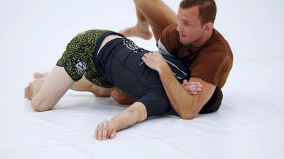 Breylor Grout Demonstrates Adjusting The Darce On A Sprawled Opponent