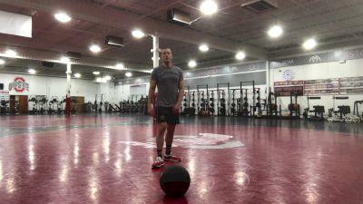 Ohio RTC's Dustin Myers Demonstrates Medicine Ball Conditioning Circuit