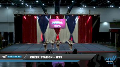 Cheer Station - Jets [2021 L2 Youth - D2 - Small Day 2] 2021 The American Spectacular DI & DII