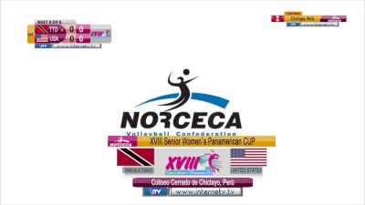 Full Replay - 2019 NORCECA Womens XVIII Pan-American Cup - Group A - Jul 7, 2019 at 3:54 PM CDT