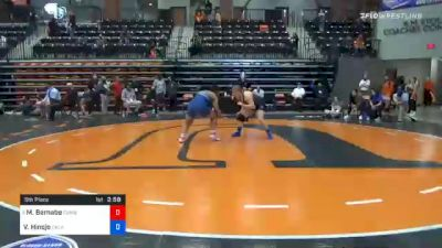 191 lbs 5th Place - MaQuoia Bernabe, Cumberlands vs Victoria Hinojo, Oklahoma City