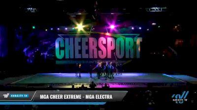 MGA Cheer Extreme - MGA Electra [2021 L2 Youth - D2 - Small - B Day 2] 2021 CHEERSPORT National Cheerleading Championship