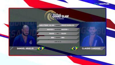 Claudio Cardoso vs Samuel Araujo 2018 Abu Dhabi Grand Slam