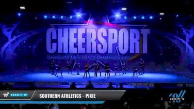 Southern Athletics - Pixie [2021 L1 Junior - D2 - Medium Day 2] 2021 CHEERSPORT National Cheerleading Championship