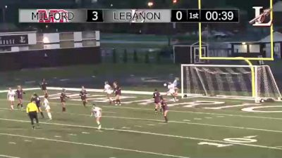 Replay: Lebanon vs Milford | Sep 22 @ 7 PM