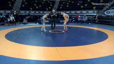 60 kg Semifinal - Dylan Koontz, TMWC/ Ohio Regional Training Center vs Alex Thomsen, Nebraska Wrestling Training Center