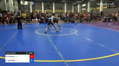 57 kg Consolation - Matthew Ramos, Gopher Wrestling Club - RTC vs Troy Spratley, Texas Pride Wrestling Club