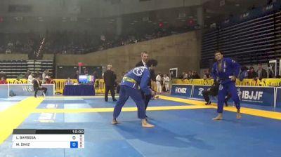 LUCAS BARBOSA vs MATHEUS DINIZ 2018 Pan Jiu-Jitsu IBJJF Championship