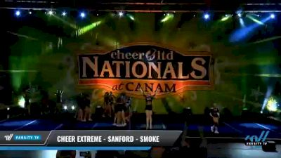 Cheer Extreme - Sanford - Smoke [2021 L4 - U17 Day 2] 2021 Cheer Ltd Nationals at CANAM