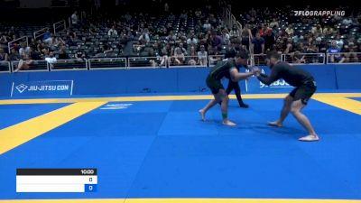ERIC HUNTER NEWTON vs DAVID SALEM GARMO 2021 World IBJJF Jiu-Jitsu No-Gi Championship