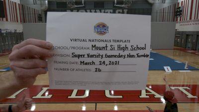 Mount Si High School [Virtual Super Varsity Non Tumbling Game Day Semi Finals] 2021 UCA National High School Cheerleading Championship