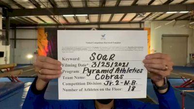 Pyramid Athletics - Cobras [L2 Junior - Non-Building] 2021 The Regional Summit Virtual Championships