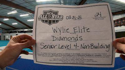 Wylie Elite - Diamonds [L4 Senior - Non-Building] 2021 NCA All-Star Virtual National Championship