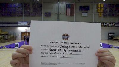 Bowling Green High School [Virtual Large Varsity Semi Finals] 2021 UCA National High School Cheerleading Championship