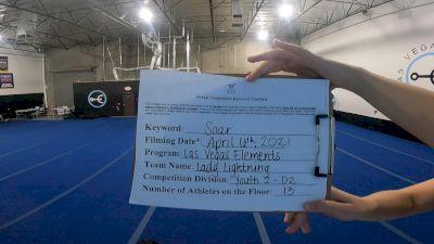 Las Vegas Elements - Lady Lightning [L2 Youth - D2 - Small] 2021 The Regional Summit Virtual Championships