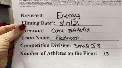 Core Athletix - Platinum [L3 Junior - Small] 2021 Beast of The East Virtual Championship