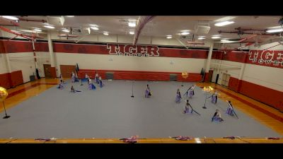Moon Area High School Winter Color Guard - An Umbrella for Every Storm