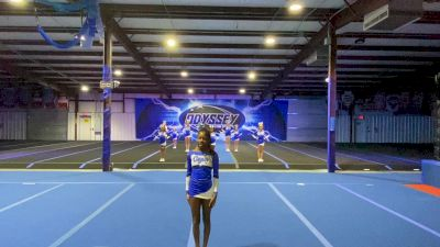Odyssey Cheer Company - Frost [L1 Youth - D2 - Small - B] 2021 NCA All-Star Virtual National Championship