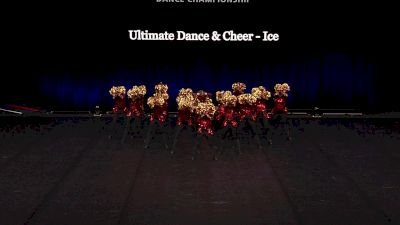 Ultimate Dance & Cheer - Ice [2021 Youth Pom - Large Finals] 2021 The Dance Summit
