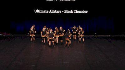 Ultimate Allstars - Black Thunder [2021 Junior Coed Hip Hop - Small Semis] 2021 The Dance Summit