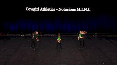 Cowgirl Athletics - Notorious M.I.N.I. [2021 Mini Coed Hip Hop Semis] 2021 The Dance Summit